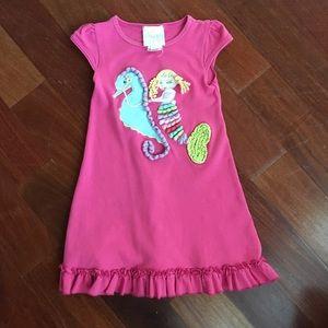 Fun seahorse/mermaid dress